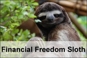 Financial Freedom Sloth Article