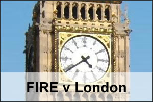 FIRE v London Article