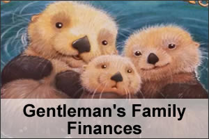 Gentleman's Family Finances Article