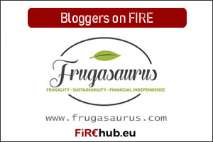 Bloggers on FIRE Featured Image Frugasaurus exp