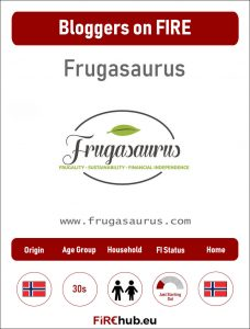 Bloggers on FIRE Profile Card Frugasaurus exp