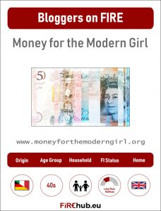 Bloggers on FIRE Profile Card Money for the Modern Girl exp