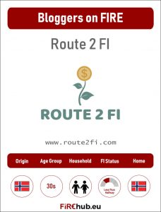 Bloggers on FIRE Profile Card Route 2 FI exp