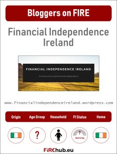 Bloggers on FIRE Profile Card Financial Independence Ireland exp