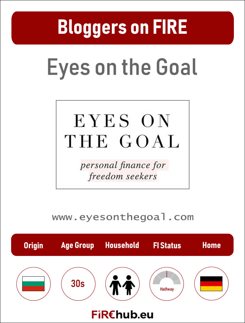 Bloggers on FIRE Profile Card Eyes on the Goal exp