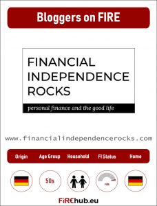 Bloggers on FIRE Profile Card Financial Independence Rocks exp