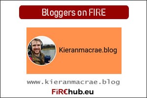 Bloggers on FIRE Featured Image Kieran MacRae Blog exp