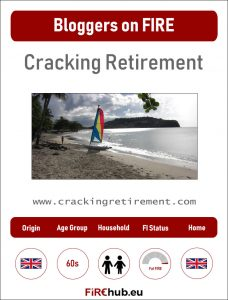 Bloggers on FIRE Profile Card Cracking Retirement exp