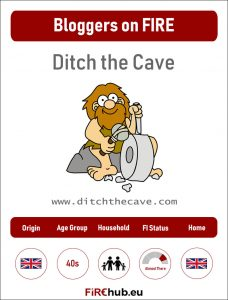 Bloggers on FIRE Profile Card Ditch the Cave exp