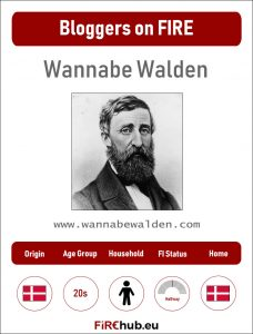 Bloggers on FIRE Profile Card Wannabe Walden exp