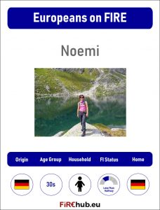 Europeans on FIRE Profile Card Noemi 2 exp