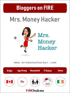Bloggers on FIRE Profile Card Mrs Money Hacker exp