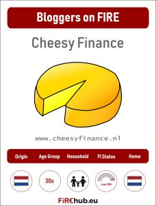 Bloggers on FIRE Profile Card Cheesy Finance exp