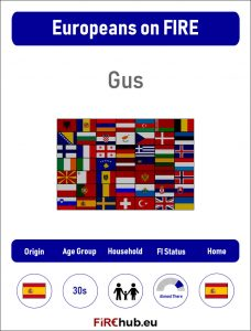 Europeans on FIRE Profile Card Gus exp