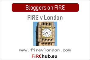 Bloggers on FIRE Featured Image FIRE v London exp