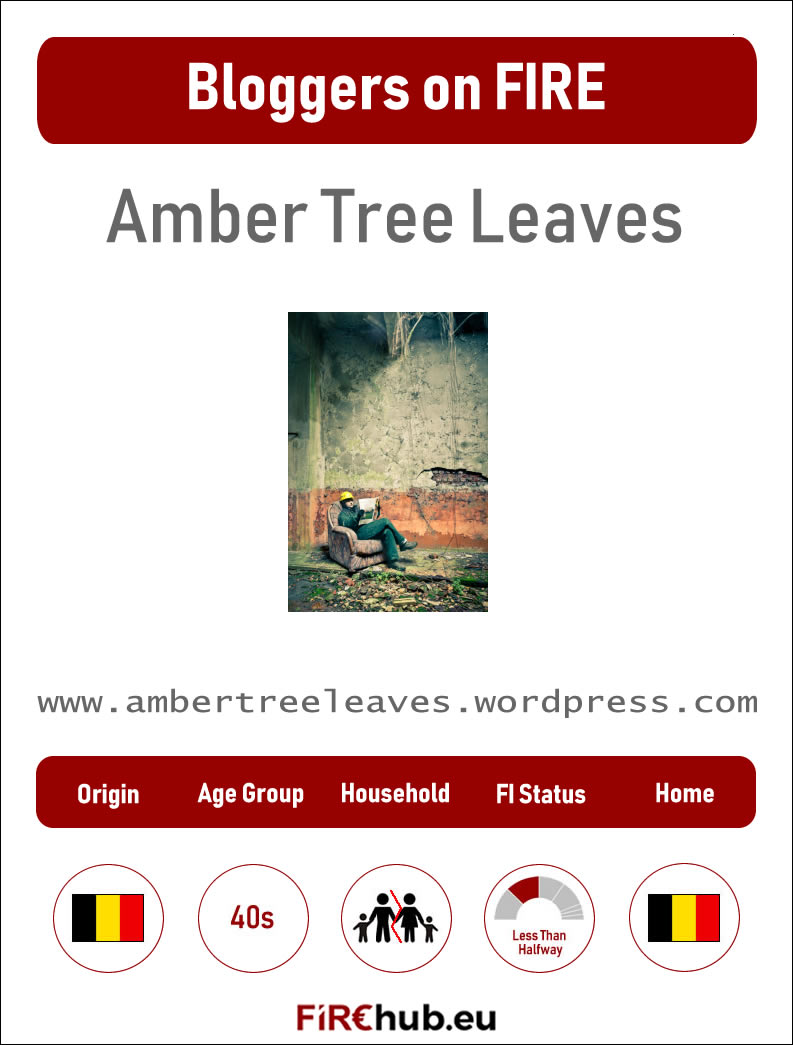 Bloggers on FIRE Profile Card Amber Tree Leaves exp