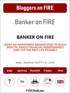 Bloggers on FIRE Profile Card Banker on FIRE exp